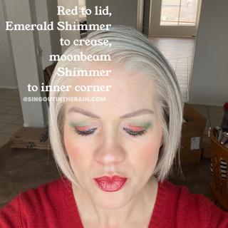 Red ShadowSense, Emerald Shimmer ShadowSense, SeneGence ShadowSense, Moonbeam Shimmer ShadowSense