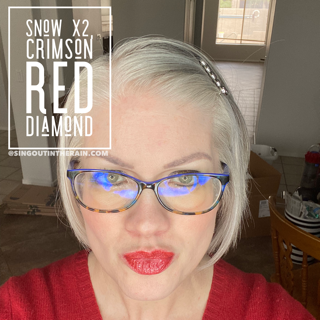 Snow LipSense, Crimson Red Diamond LipSense