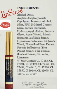 LipSense Ingredients - FAQ