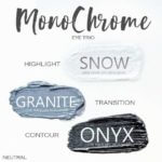 Monochrome Shadowsense trio, snow shadowsense, granite shadowsense, onyx shadowsense