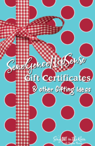 PI - Gift Certificates & other gifting ideas