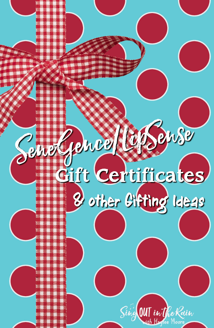 LipSense Gift Certificates and Other Gifting Ideas
