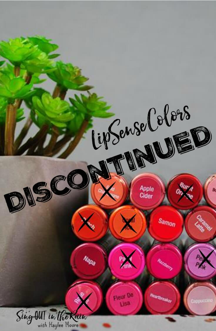 Here is a list of all the Discontinued LipSense Colors.  It is updated often.  If you are looking for Limited Edition Colors or \