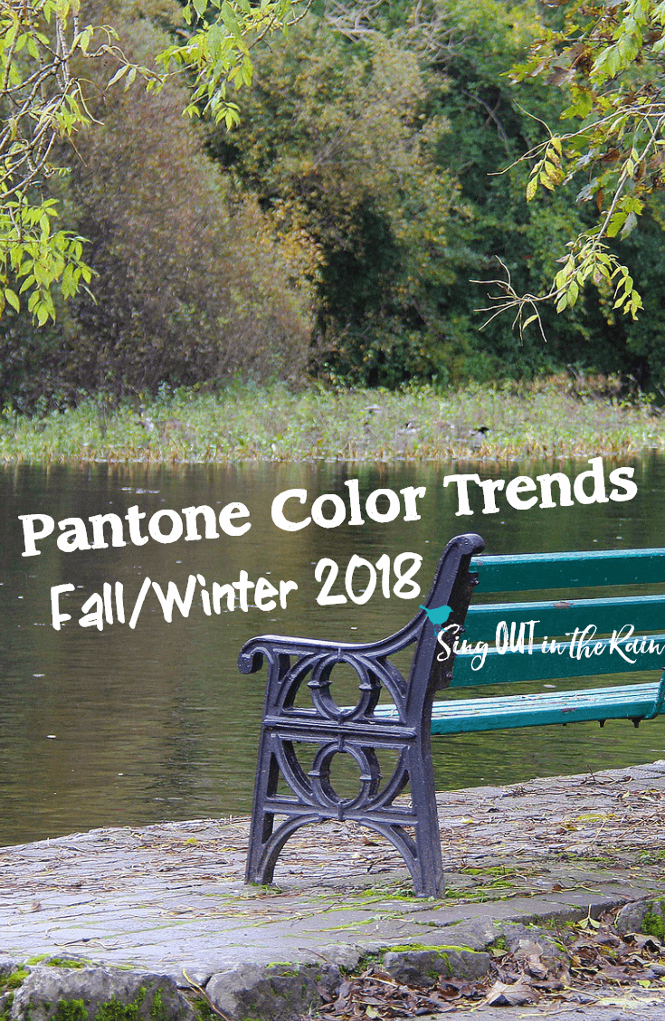 Pantone\'s Fall/Winter 2018 color trends revealed.  Gorgeous swatches/collages of EACH color included.    #pantone #fall #winter #colortrends #fallcolors