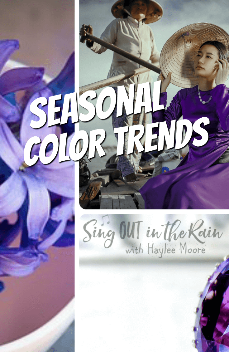 This is where all the Pantone Color Trends come together into beautiful collages so you can use them to shop for the current & upcoming seasons.  #pantone #colortrends #collages #seasonal