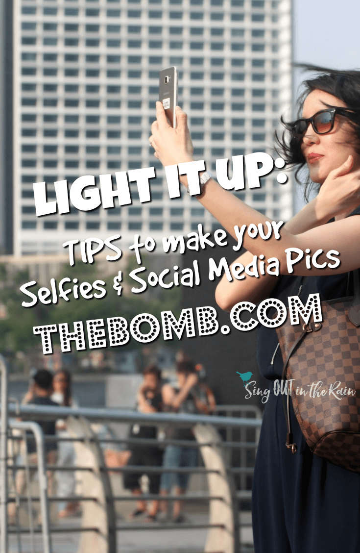 Most of us use our smartphone to take the selfies and pictures we post on social media.  Here are some tips about how to get a good, beautiful picture whether using a ring light, an iphone or a stand.  #light #photography #socialmedia #bestpicture #takeapicture #goodlighting