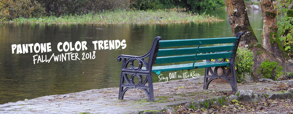 Pantone's Fall/Winter 2018 Seasonal Color Trends