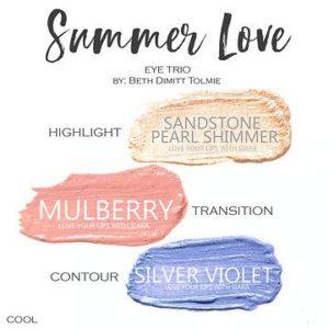 Summer Love shadowsense trio