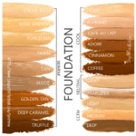 senegence foundation match, senegence foundation swatches