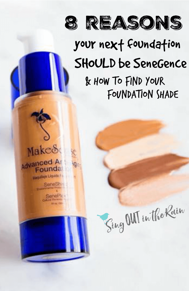 Are you looking for the BEST foundation match that leaves you with flawless, natural looking makeup?  Look no further than SeneGence.  Click this to see the 8 reasons you\'ll NEVER go back to anything else.  #foundation #makeup #beauty #senegence #findyourshade