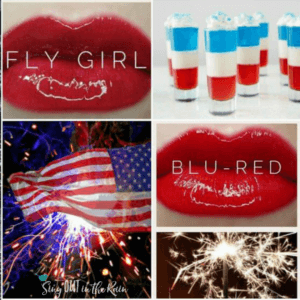 4th of july makeup, fourth of july makeup looks