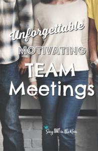 team meeting agenda ideas, direct sales team meeting ideas