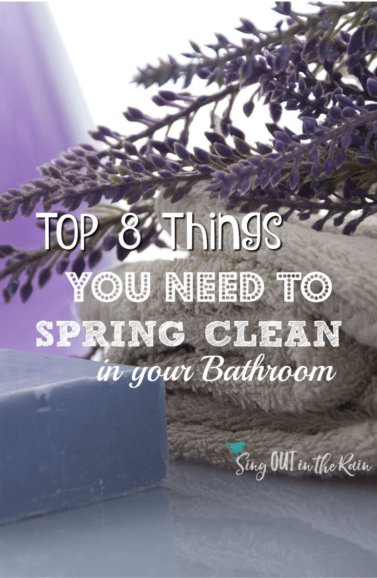 Spring is a great time to declutter your bathroom.  Here are 8 ideas of spring cleaning know how.  All products have a shelf life - prepare for some awesome life hacks!  #clean #springclean #bathroom #springcleaning #makeup #getridofit