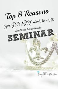 SeneGence Seminar, Seminar SeneGence