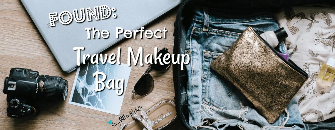 The PERFECT Travel Makeup Bag