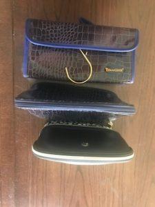 my 3 makeup bags