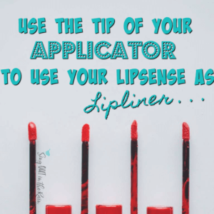 linersense tip lips outline