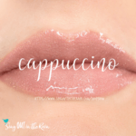 Cappucino lipsense, long lasting makeup, sweatproof makeup