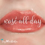 Rose All Day LipSense, LipSense Mixology, Limited Edition LipSense