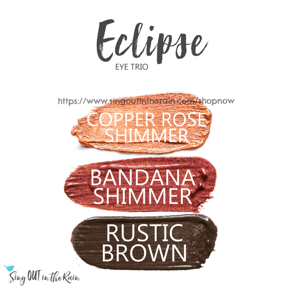 Copper Rose Shimmer shadowsense, bandana Shimmer Shadowsense, rustic brown shadowsense, fall senegence eye makeup, best shadowsense looks for fall, Eclipse ShadowSense eye trio, copper rose shimmer shadowsense, bandana shimmer shadowsense, rustic brown shadowsense
