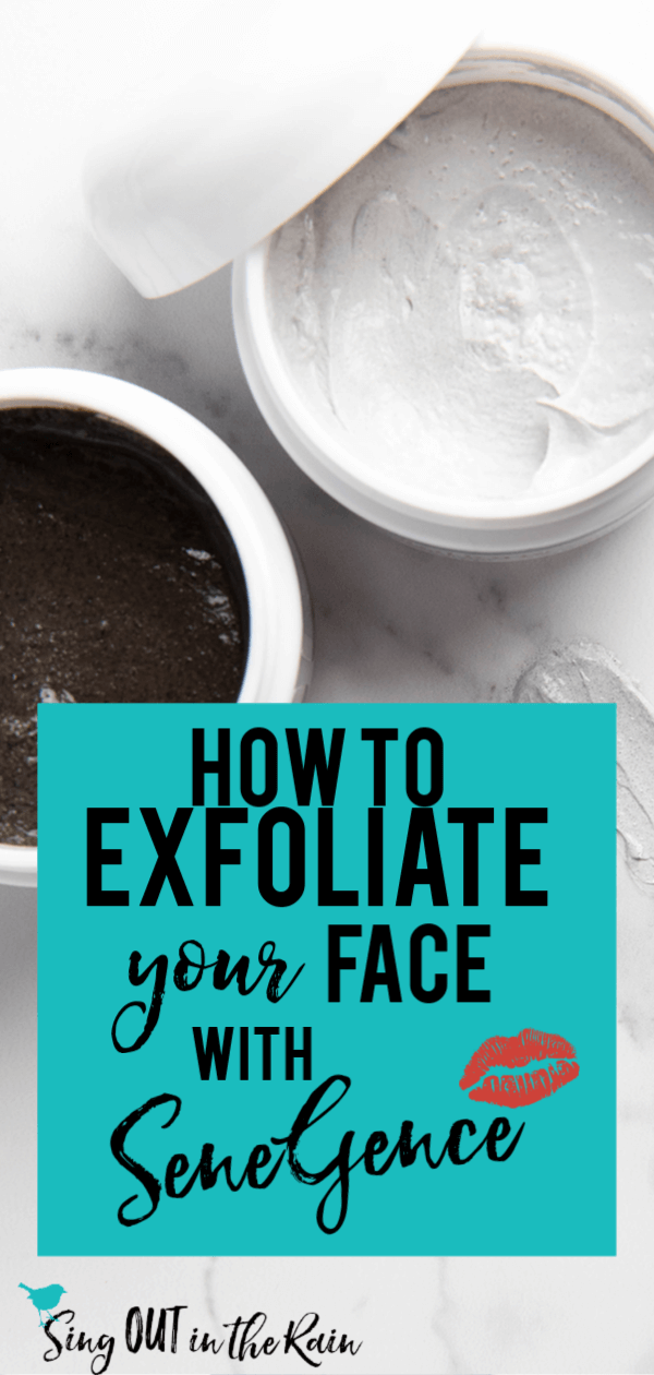 How to Exfoliate Face with SENEGENCE : Facial Resurfacer vs. Polishing Exfoliator