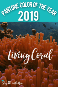 PI - Pantone Color of the Year 2019 Living Coral