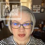 Bella LipSense, LipSense Mixology, Coral Reef LipSense, Beige Champagne LipSense