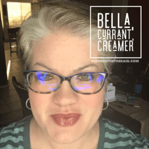 Bella LipSense, Currant LipSense, Creamer LipSense, LipSense Mixology