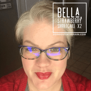 Bella LipSense, LipSense mixology, Strawberry Shortcake LipSense