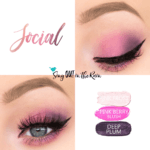 Social ShadowSense Trio, Pink Frost ShadowSense, Deep Plum ShadowSense, Pink Berry BlushSense, Trendy Easter Makeup Looks, Trendy Easter Makeup Ideas