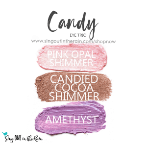 pink opal shimmer shadowsense, candied cocoa shimmer shadowsense, amethyst shadowsense