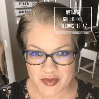 Nutmeg LipSense, Girlfriend LipSense, Precious Topaz LipSense, LipSense Mixology