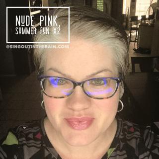 Nude Pink LipSense, LipSense Mixology, Summer Fun LipSense