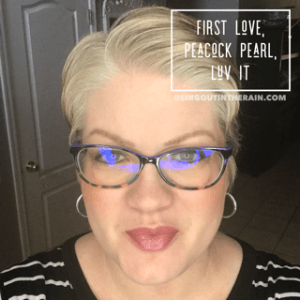 First Love LipSense, Lipsense Mixology, Peacock Pearl LipSense, Luv It LipSense
