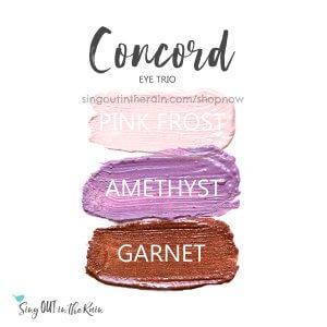 pink frost shadowsense, amethyst shadowsense, garnet shadowsense, concord trio