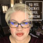 Red Rose Lipsense, Chocolate Copper LipSense, Cappuccino LipSense, LipSense Mixology