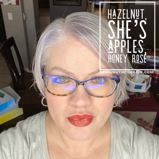 Hazelnut LipSense, She's Apples LipSense, Honey Rose LipSense, LipSense Mixology
