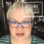 Hazelnut LipSense, Caramel Latte LipSense, Crystal Mauve LipSense, LipSense Mixology