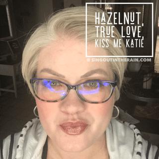 Hazelnut LipSense, Lipsense Mixology, True Love Lipsense, Kiss me Katie LipSense