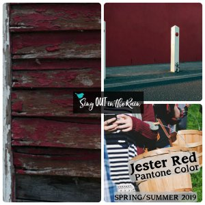Jester Red, Pantone Color, 2019 Pantone Color