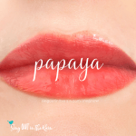 lipsense papaya gloss, senegence papaya gloss
