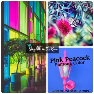 Pink Peacock, Pantone Color, 2019 Pantone Color