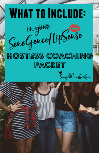 Hostess Coaching SeneGence, LipSense hostess coaching