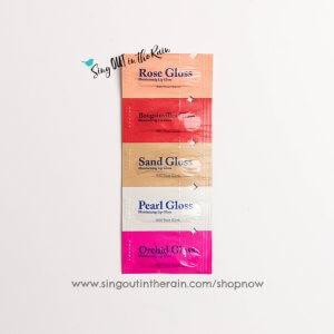 lipsense gloss, lipsense gloss samples, senegence gloss samples