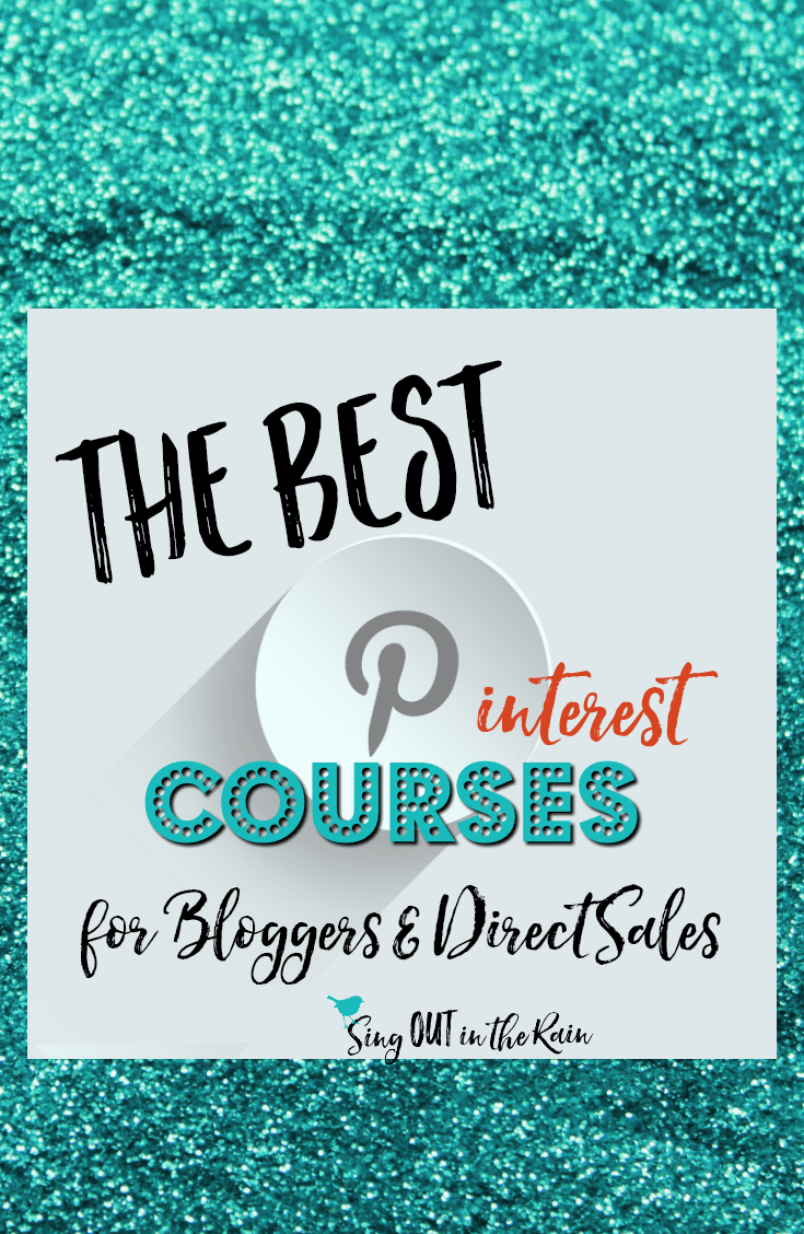 If you are looking to explode your business on social media - PINTEREST is it. No matter whether you are in direct sales or are a blogger - these classes will teach you how to use EVERYTHING on pinterest to your advantage.  #pinterest #bloggers #directsales #bestcourses