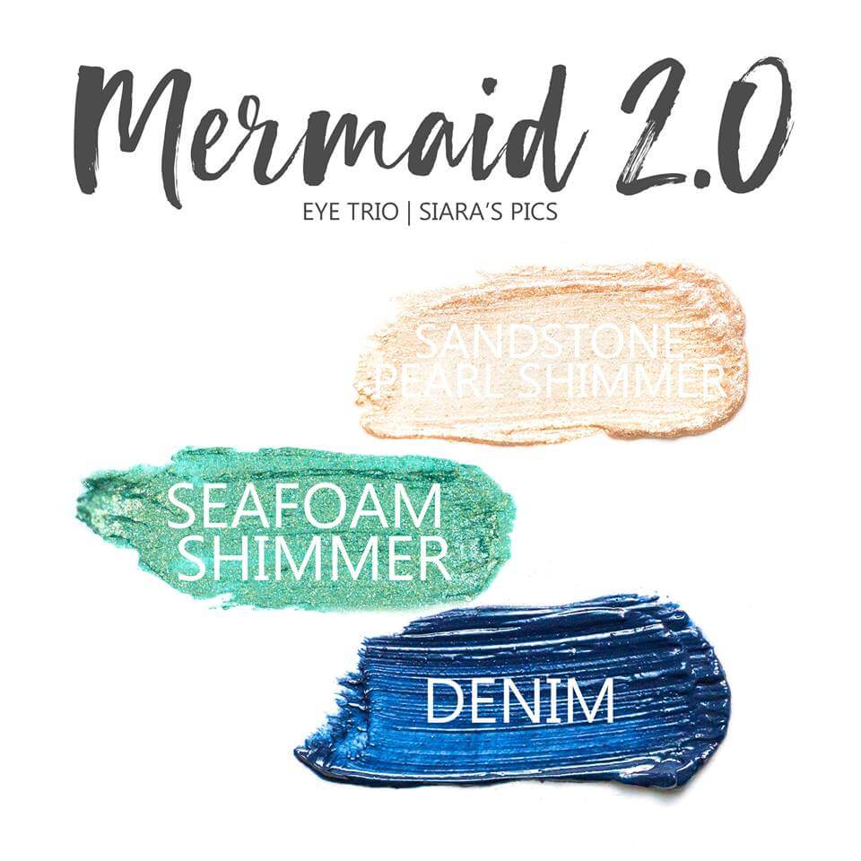 Mermaid 2.0 ShadowSense Eye Trio,