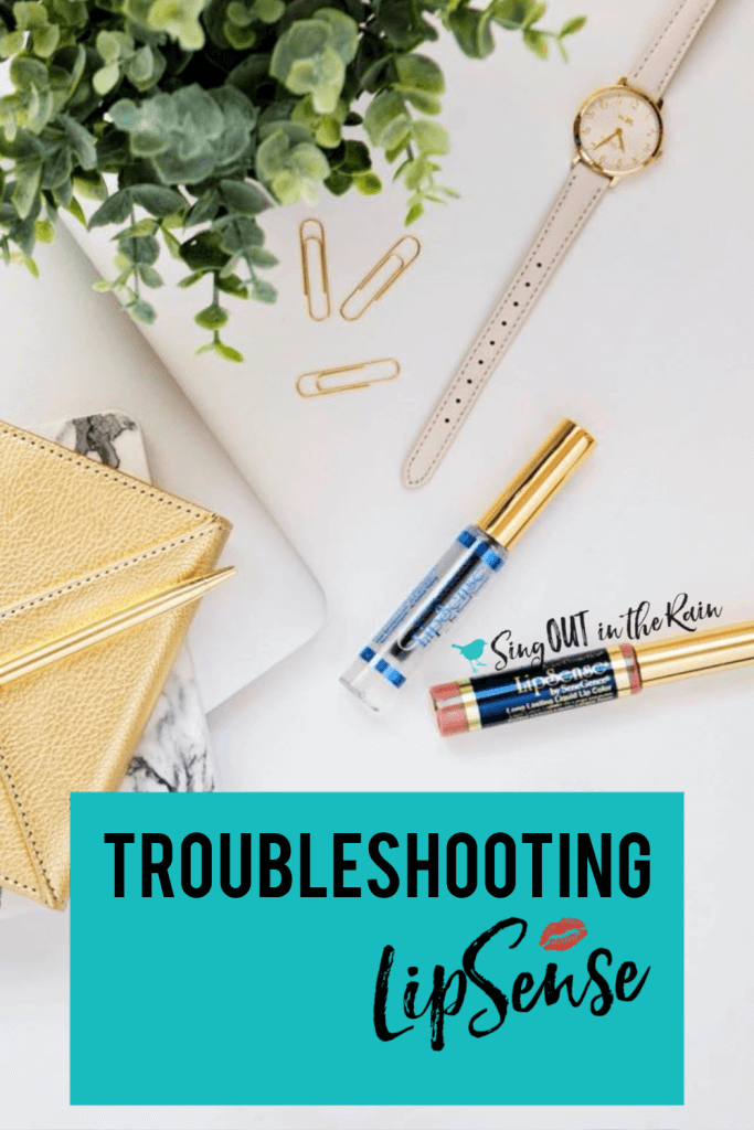 troubleshooting lipsense, why does my lipsense burn