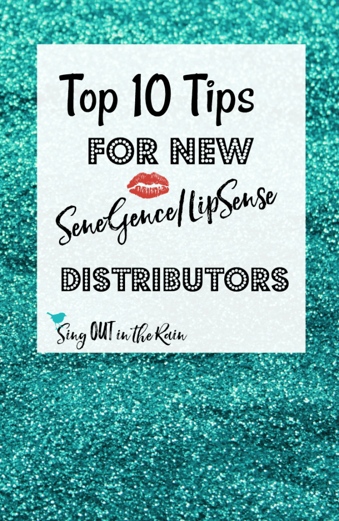 senegence new distributor checklist, senegence distributor tips
