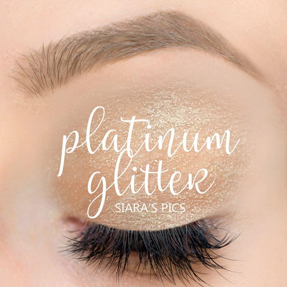 platinum glitter shadowsense