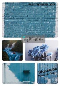 Pantone Trends Fall 2019, Pantone Fall 2019 Colors, Bluestone, Bluestone Pantone Color, Fall/Winter 2019 Pantone Color